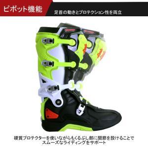 送料無料 バイクブーツ MXブーツ 防水 モトクロス メンズ レディース SCOYCO(スコイコ) MBM002|hatoya-parts|02