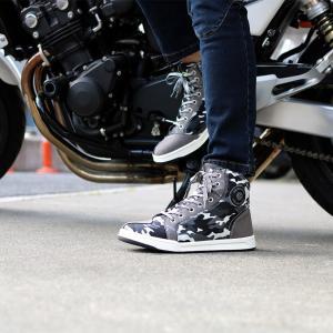 バイクシューズ・ブーツ 迷彩カジュアルライディングシューズ 普段履き スニーカー メンズ レディース ユニセックス SCOYCO(スコイコ) MT016-2 CAMO|hatoya-parts|04
