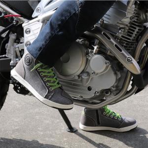 ライディングシューズ バイクシューズ メンズ レディース ユニセックス 普段履き かっこいいブラック SCOYCO MT016-2|hatoya-parts|07