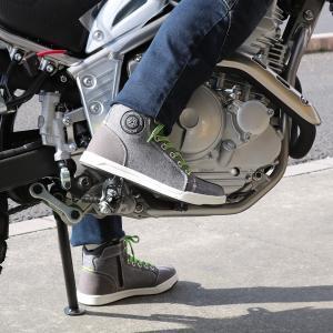 ライディングシューズ バイクシューズ メンズ レディース ユニセックス 普段履き かっこいいブラック SCOYCO MT016-2|hatoya-parts|08