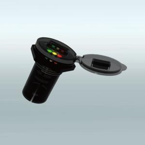 【在庫特価】UB POWER 防水USB充電ポート 3色LEDバッテリーチェッカー内臓モデル【UB-001】|hatoya-parts