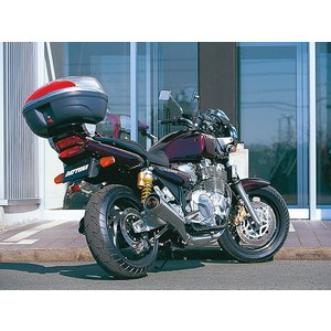 XJR1300(キャブ) (98〜02) 5UX3〜は不可。XJR1200(95〜) 94モデル〈4KG1〉は適合外。専用キャリア 90143+90090 ボックス別売|hatoya-parts