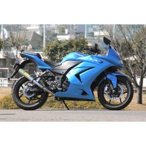 RPMマフラー KAWASAKI NINJA250R(ニンジャ) JBK-EX250K用 RPM SUS/SUS【政府認証】【1072】 フルエキゾースト|hatoya-parts