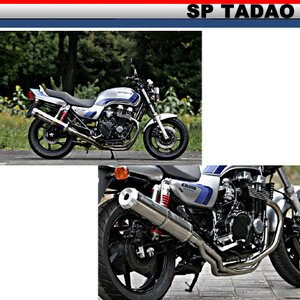 【SP TADAO】【SP忠男】【マフラー】【CB750】SUPER COMBAT PURESPORT S【CB7-PS-02 CB7-PS-01】 【取寄品】|hatoya-parts