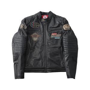 訳あり YAMAHA FASTER SONS×DEGNER デグナー レザージャケット FS02 Leather Jacket FS02 hatoya-parts 02