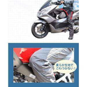 バイク用だから安心 動きやすいストレッチ素材 当店1番人気レインスーツ HR-001 レインウェア カッパ  WIDE SOURCE オートバイ hatoya-parts 06