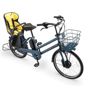 ブリヂストン ビッケグリ リヤチャイルドシートクッション ドットイエロー (BIK-K.A-P5602 Bridgestone bikke GRI ブリジストン)|hatoya-parts|02