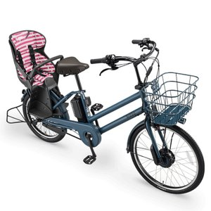 ブリヂストン ビッケグリ リヤチャイルドシートクッション ボーダーピンク (BIK-K.A-P5604 Bridgestone bikke GRI ブリジストン)|hatoya-parts|02