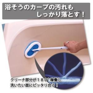 指掛けバスクリーナー(クリーナ部分が交換できる 指かけ)|hatsumei-net