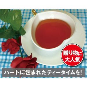 ハーティータイム(ティーカップ ハート型 バレンタイン)|hatsumei-net