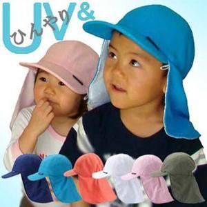 UV フラップ帽子(キャップ) (熱中症対策)|hatsumei-net