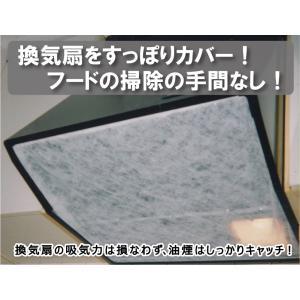 すっぽりしっかり貼るんです (換気扇フィルター)|hatsumei-net