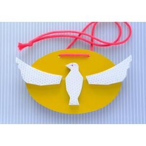 交通安全マスコット(反射板 リフレクター 歩行者 通学 鳥) ※送料¥200(1個まで)|hatsumei-net