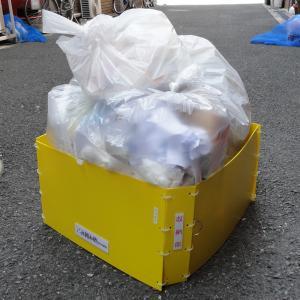 猫・カラス被害対策 「ごみ囲み枠」(家庭用・大) hatsumei-net