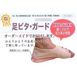 足ピタ・ガード(脚長差の悩み解消!)|hatsumei-net