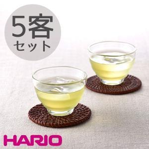 HARIO ハリオ 耐熱ガラスカップ5個セット 170ml ...
