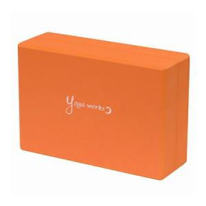 Yogaworks(ヨガワークス)ヨガブロックA アプリコット(オレンジ)