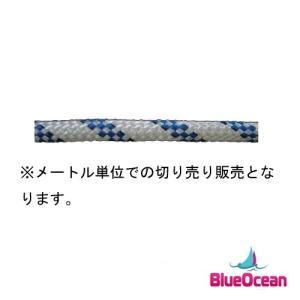 ヨット用ロープ 6mm 6φ【ブルー】の商品画像