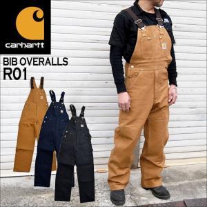 オーバーオール carhartt カーハート メンズ レディース つなぎ サロペット オールインワン 作業着 黒 ダック ブラウン R01|hauhau