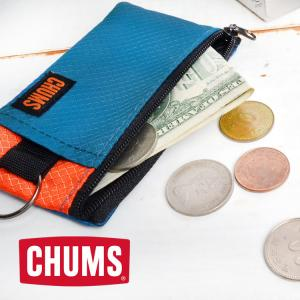 財布 CHUMS チャムス ウォレット ショート 小銭入れ コインケース パスケース メンズ レディース ブランド キーチェーン 定期入れ
