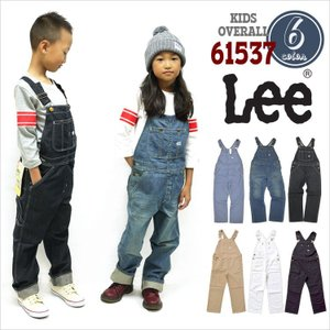 キッズ オーバーオール Lee リー 61537 デニム つなぎ 子供 男の子 女の子 ズボン ジュニア 小学生 ダンス EDWIN エドウィン|hauhau
