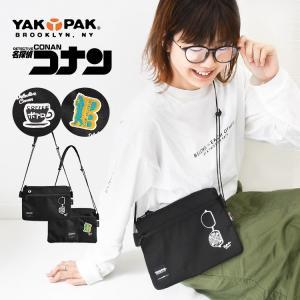 サコッシュ レディース ミニ バッグ メンズ 名探偵コナン 小さめ yakcn-002 yakpak...