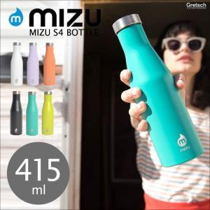 水筒 ボトル MIZU ミズ ステンレス 直飲み S4 400ml アウトドア サーフィン スポーツ おしゃれ かわいい かっこいい ボタニカル|hauhau