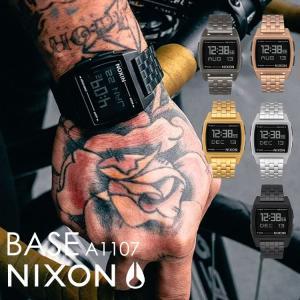 腕時計 防水 nixon ニクソン メンズ レディース デジタル BASE ベース NA1107 ク...
