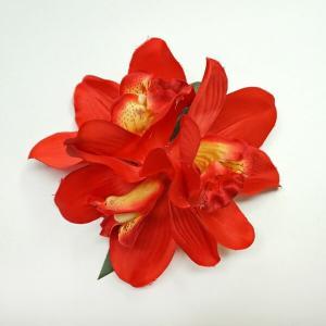 ハワイアン ハワイ 雑貨 ハワイアン雑貨 髪飾り 花 ハワイアン ヘアーアクセサリー クリップ 赤 花|hawaiian