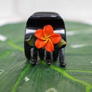 ハワイアン ハワイ 雑貨 ハワイアン雑貨 ヘアクリップ ヘアピン ミニ プルメリア ヘアアクセサリー9|hawaiian