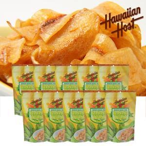 ハワイお土産 バナナツイスト10袋セット|ハワイアンホースト|hawaiianhost
