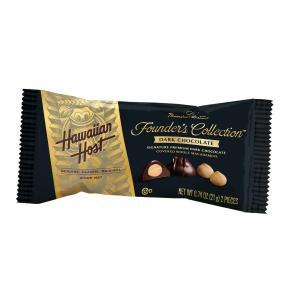 ハワイお土産 マカデミアナッツチョコレートダークバー2粒入り|ハワイアンホースト公式店