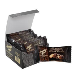 【セール商品】ハワイお土産 マカデミアナッツチョコレートダークバー2粒入り12袋セット ハワイアンホースト公式店