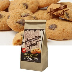 ハワイお土産 チョコチップマカデミアナッツクッキーBAG|ハワイアンホースト|hawaiianhost