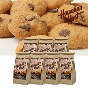 ハワイお土産 チョコチップマカデミアナッツクッキーBAG7袋セット|ハワイアンホースト|hawaiianhost