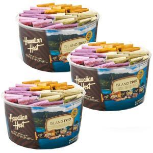 ハワイお土産 アイランドトリオ36袋入り3個セット(化粧箱入り)|ハワイアンホースト|hawaiianhost