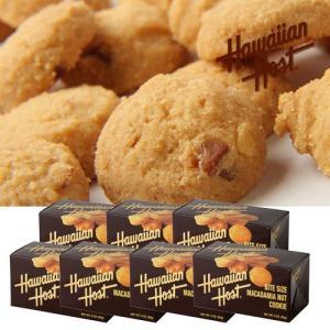ハワイお土産 マカデミアナッツクッキーBOX7箱セット|ハワイアンホースト|hawaiianhost