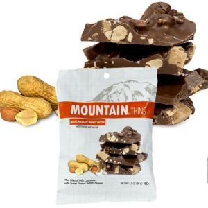 【セール商品】アメリカお土産 マウンテンシン ミルクチョコ ピーナッツバターハンギングバッグ(90g)|ハワイアンホースト