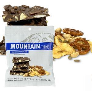 アメリカお土産 マウンテンシン ミルクチョコトレイルミックス ハンギングバッグ(90g)|ハワイアンホースト|hawaiianhost