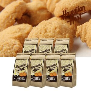 ハワイお土産 マカデミアナッツクッキーBAG7袋セット|ハワイアンホースト|hawaiianhost