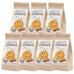 ハワイお土産 スヌーピーチョコチップマカデミアナッツクッキー7袋セット|ハワイアンホースト|hawaiianhost