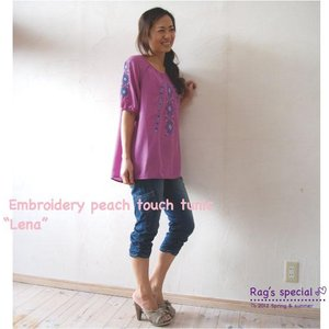 【Rag Pantry】★122006 Embroidery tunic【Lena】ラグパントリー|hawaiilani-shop