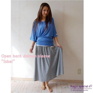 【Rag Pantry】★123002 cut sew[Isbel]ラグパントリー|hawaiilani-shop