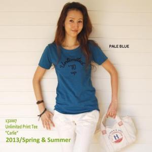 【SALE!】【Rag Pantry】★132007 フロッキープリント-ベーシックTee[Carlie]ラグパントリー|hawaiilani-shop