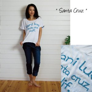 【Lani Lua】★142002★ コットン素材/ チュニックTEE ★Santa Cruz★ 【ラニルア】|hawaiilani-shop