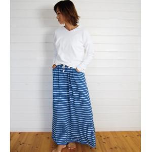 【Rag Shop】★150007 ニットデニム / フレアースカート★Aino★|hawaiilani-shop