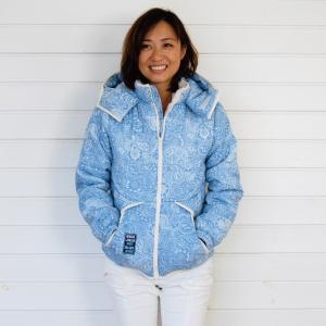 【Rag Shop】★155105★ ペイズリー柄の暖かジャケット/裏地にファー付き★Anika★ 【ラグショップ】|hawaiilani-shop