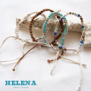 【Helena】★20140103b★【ヘレナ】天然石のブレスレット / 素敵な天然石で作ったブレスレット♪|hawaiilani-shop
