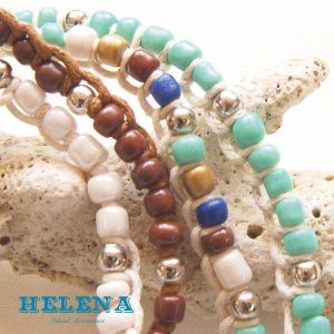 【Helena】★20140103b★【ヘレナ】天然石のブレスレット / 素敵な天然石で作ったブレスレット♪|hawaiilani-shop|02