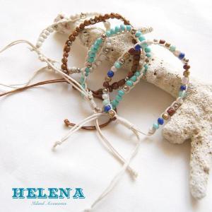 【Helena】★20140103b★【ヘレナ】天然石のブレスレット / 素敵な天然石で作ったブレスレット♪|hawaiilani-shop|03